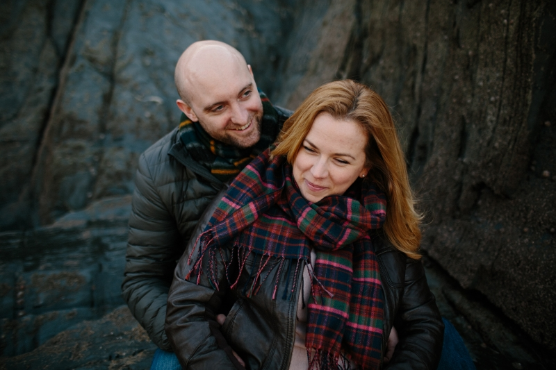 Woolcombe engagement photographer Bryony and Ben 12