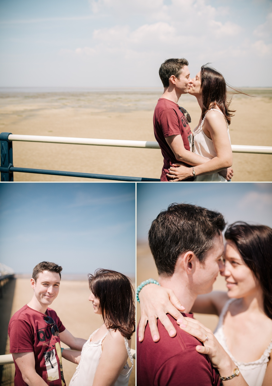 Cheshire Wedding Photographer Formby Engagement Shoot Alison and Tony_0005
