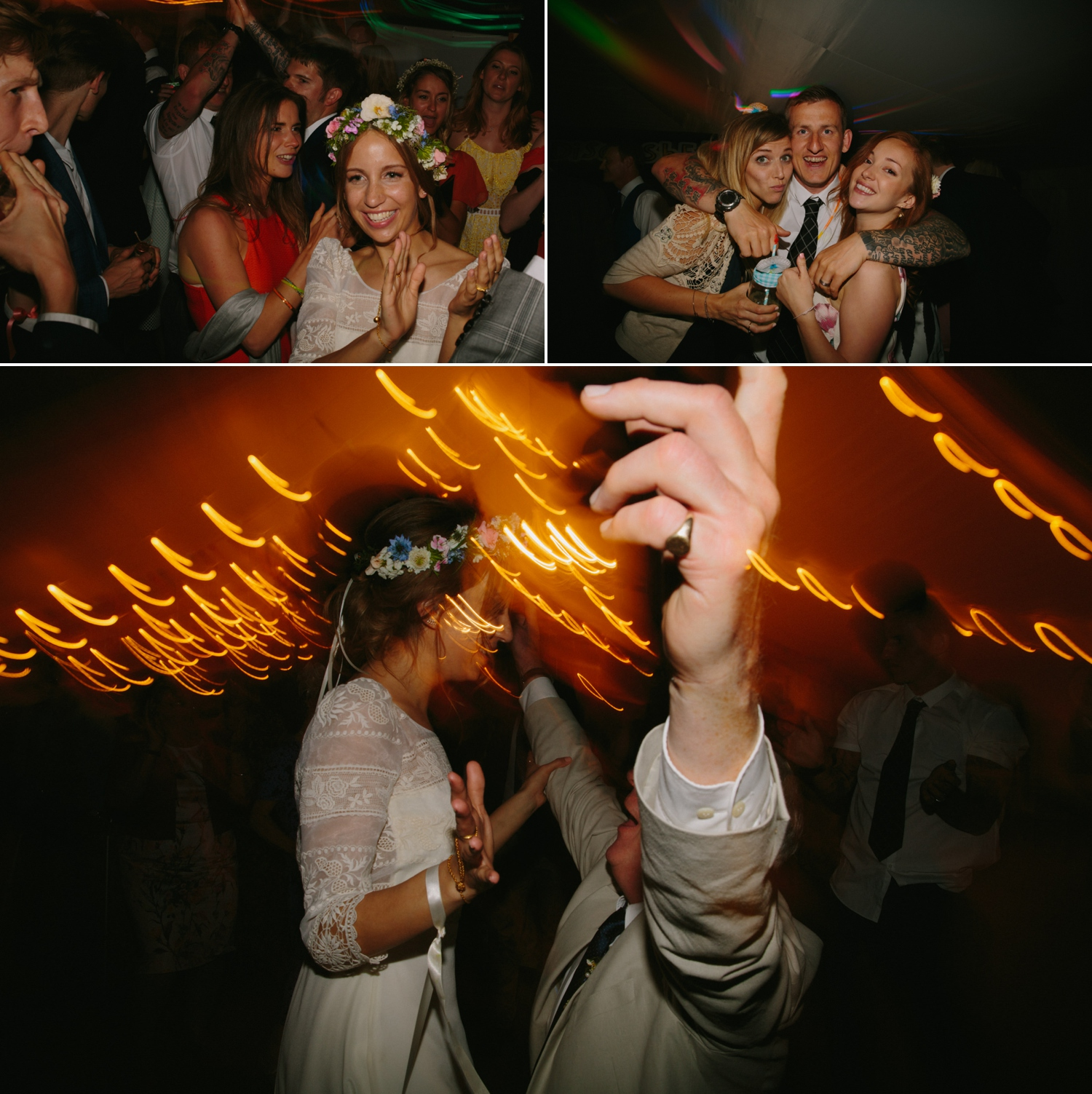wedding disco at old oak farm