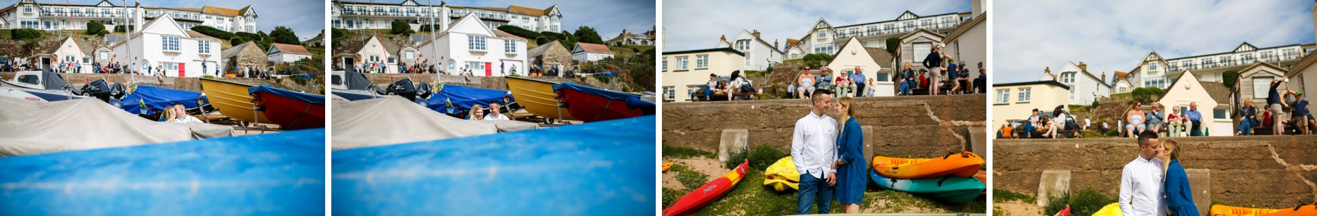Salcombe wedding photographer Heather and Dale Hope Cove_0017