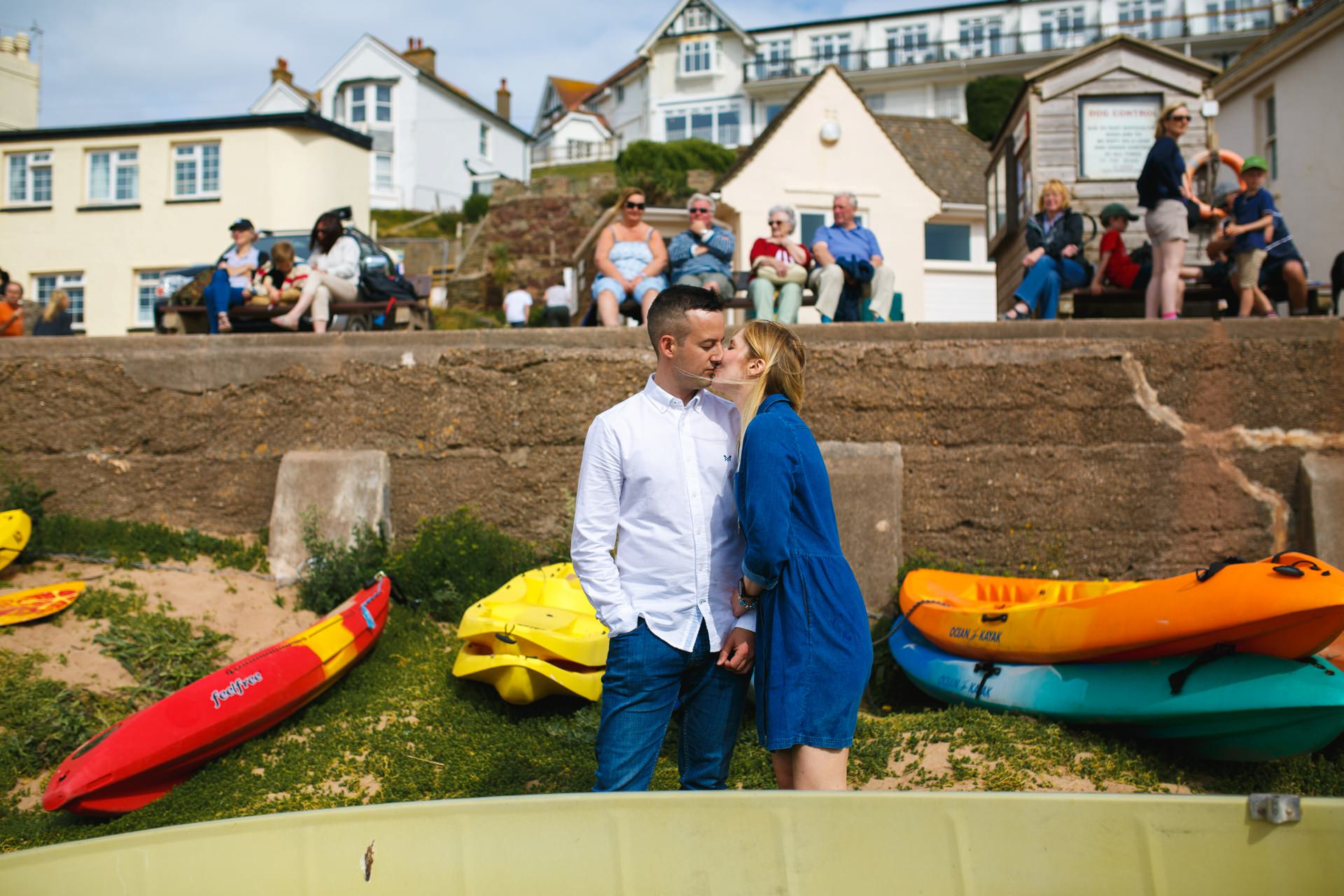 Salcombe wedding photographer Heather and Dale Hope Cove_0018