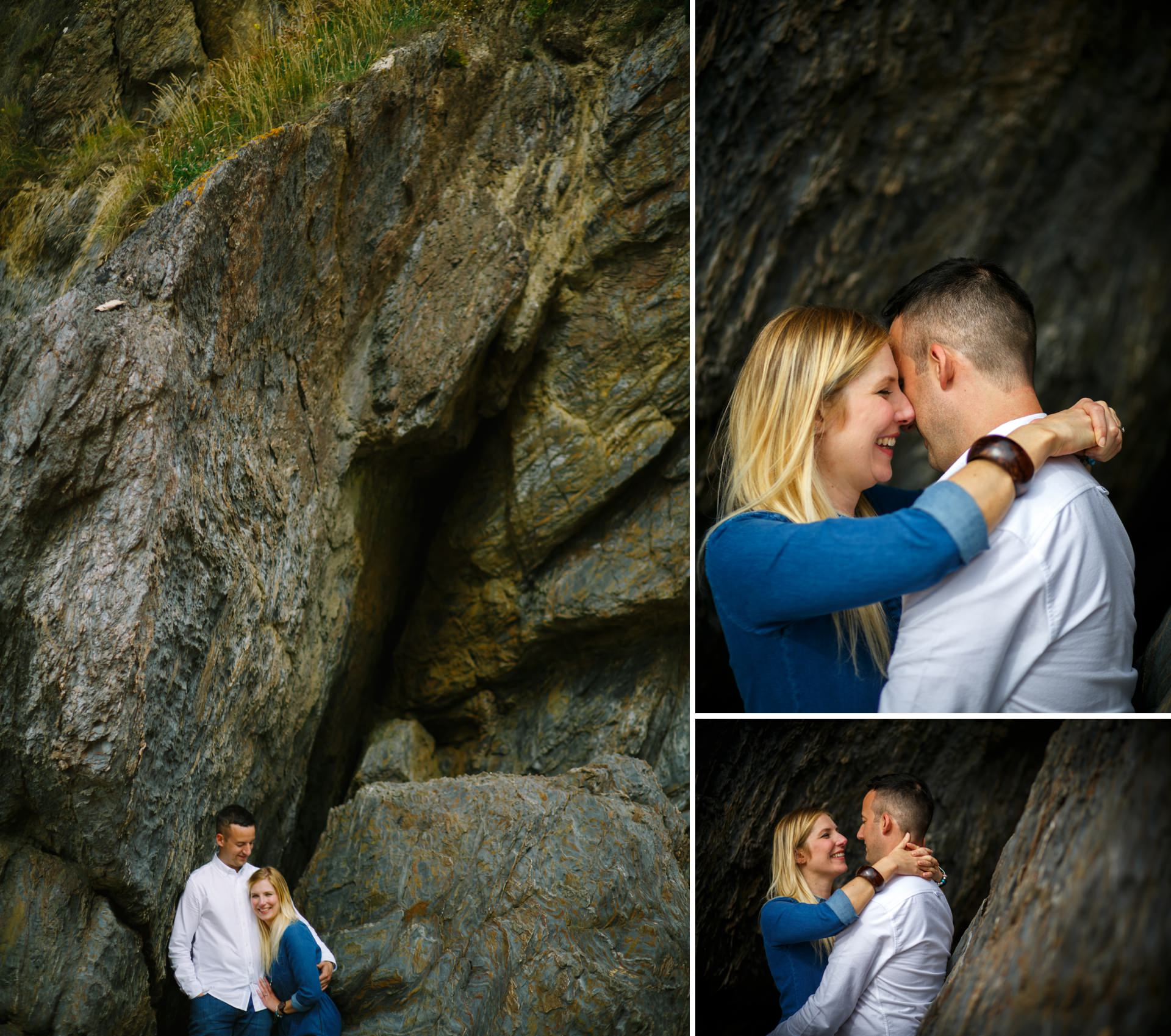 Salcombe wedding photographer Heather and Dale Hope Cove_0021