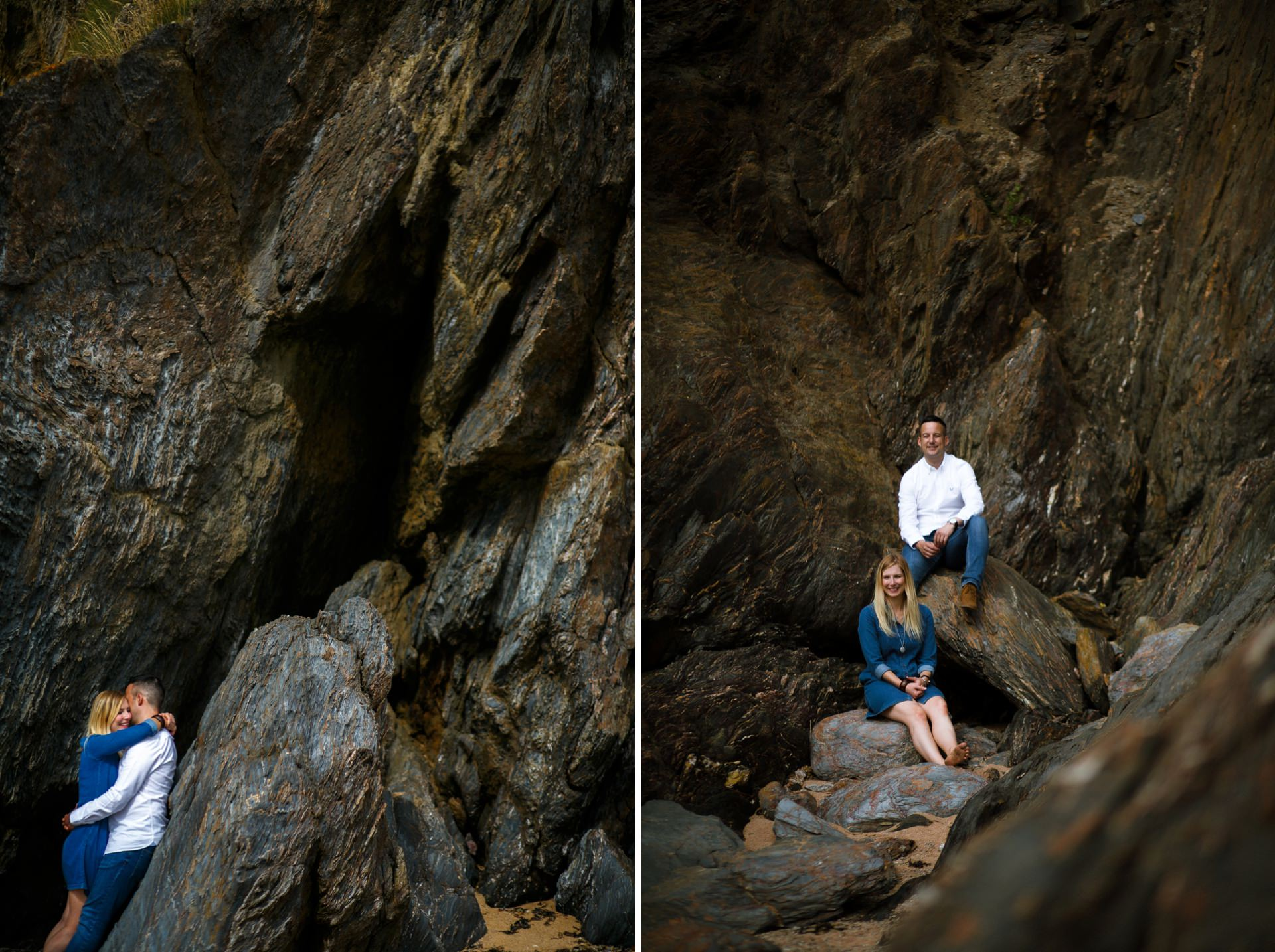 Salcombe wedding photographer Heather and Dale Hope Cove_0022