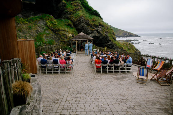 Tunnels Beaches a wedding venue in Devon
