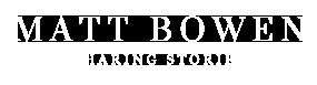 Somerset wedding photographer Matt Bowen Logo