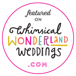 Devon wedding photographer trust badge Whimsical Wonderland Weddings