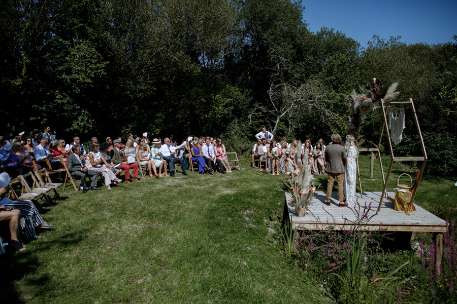 Anran devon wedding in the summer sun 01
